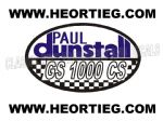 Paul Dunstall Suzuki GS 1000 CS Tank and Fairing Transfer Decal DDUN11-2